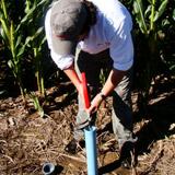 Monitoreo de agua del suelo y recomendación de riego